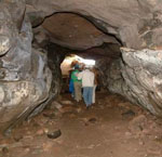 wemyss caves - sloping cave